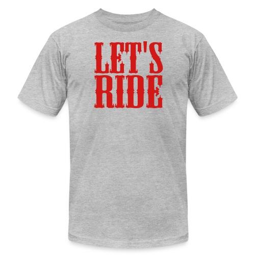 Let's Ride - Men's Fine Jersey T-Shirt