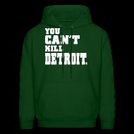 Hoodies ~ Men's Hoodie ~ You Can't Kill Detroit