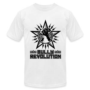 Bully Revolution Men's Tee (White) - Men's Fine Jersey T-Shirt