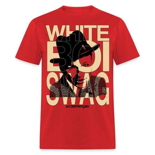 White Boi Swag - Men's T-Shirt