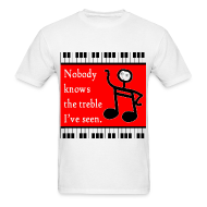 T-Shirts ~ Men's T-Shirt ~ Nobody Knows the Trouble I've seen