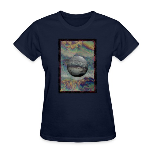 fly by alien worlds - Women's T-Shirt