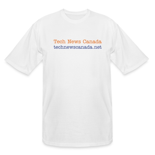 Man's Tech News Canada T-Shirt (XLT) - Men's Tall T-Shirt
