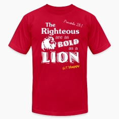 Proverbs 28:1 T-Shirts