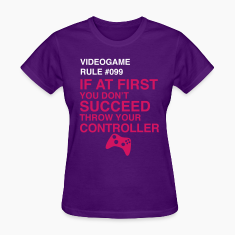 Videogame Rule #099 Women's T-Shirts