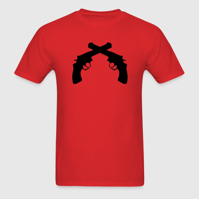 Crossed Guns T-Shirts - Men's T-Shirt