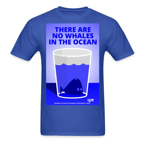 Whales in the Ocean: Ptermclean - peter mclean - Men's T-Shirt