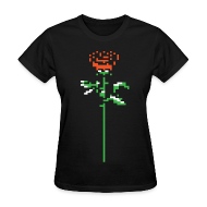 Women's T-Shirts ~ Women's T-Shirt ~ Rose