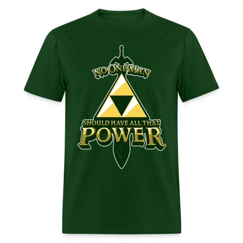 Triforce Power - Men's T-Shirt
