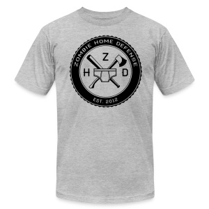 Zombie Home Defense - Men's Fine Jersey T-Shirt