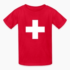 Swiss Cross Kids' Shirts