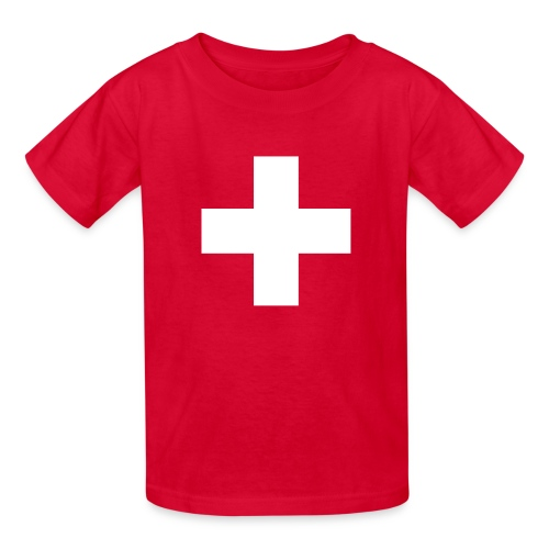 Swiss Cross Kids' Shirts - Kids' T-Shirt