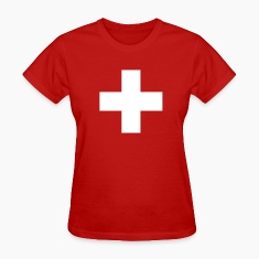 Swiss Cross Women's T-Shirts