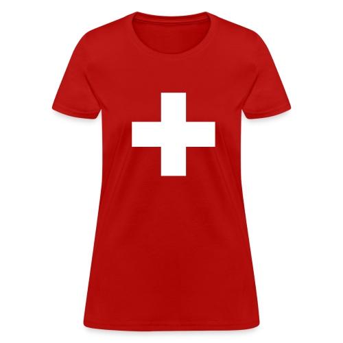 Swiss Cross Women's T-Shirts - Women's T-Shirt