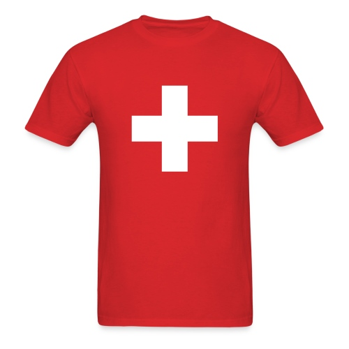 Swiss Cross T-Shirts - Men's T-Shirt