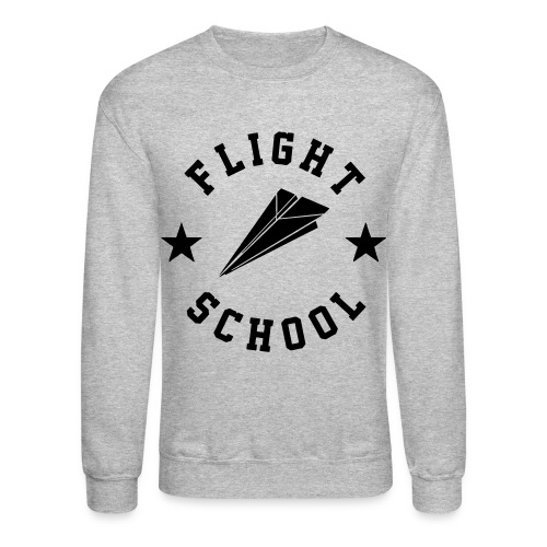 flight school - Crewneck Sweatshirt