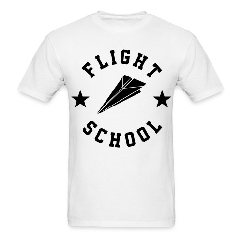 flight school - Men's T-Shirt