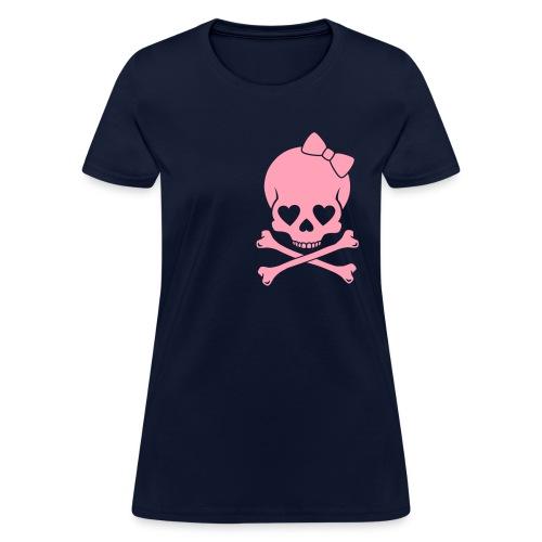 Cutest Skull Ev-a! - Women's T-Shirt