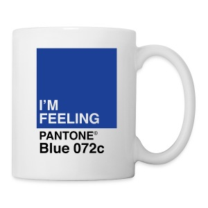 Pantone Blue - Coffee/Tea Mug
