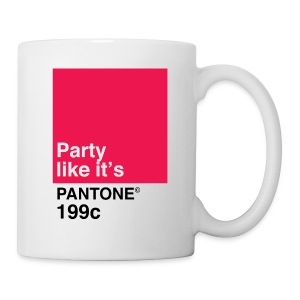 Pantone 199c - Coffee/Tea Mug