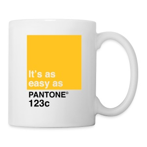 Pantone 123c - Coffee/Tea Mug