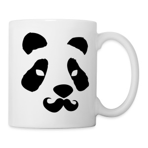 Pandastache - Coffee/Tea Mug