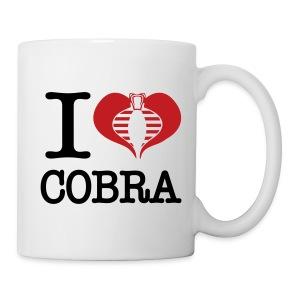 I Heart Cobra - Coffee/Tea Mug