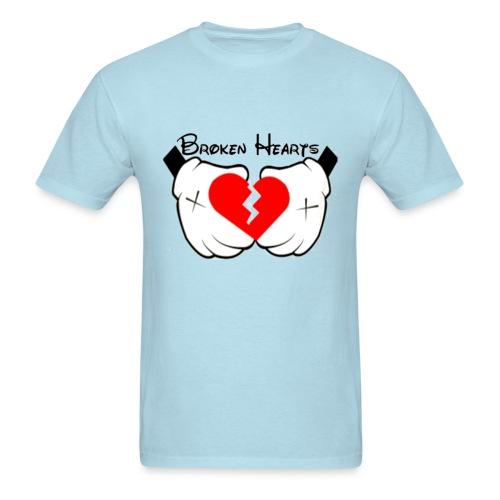 Broken Heart Tee - Men's T-Shirt
