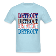 T-Shirts ~ Men's T-Shirt ~ Detroit Colors