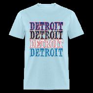 T-Shirts ~ Men's T-Shirt ~ Detroit Colors