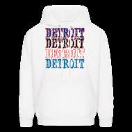 Hoodies ~ Men's Hoodie ~ Detroit Colors