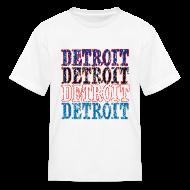 Kids' Shirts ~ Kids' T-Shirt ~ Detroit Colors