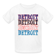 Kids' Shirts ~ Kids' T-Shirt ~ Detroit Colors