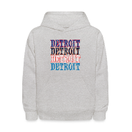 Sweatshirts ~ Kids' Hoodie ~ Detroit Colors