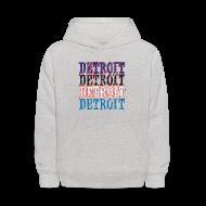 Sweatshirts ~ Kids' Hoodie ~ Detroit Colors