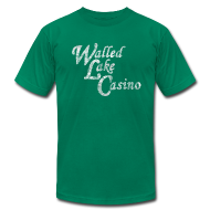 T-Shirts ~ Men's T-Shirt by American Apparel ~ Old Walled Lake Casino