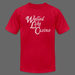 Old Walled Lake Casino - Men's T-Shirt by American Apparel