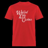 T-Shirts ~ Men's T-Shirt ~ Old Walled Lake Casino