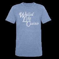 T-Shirts ~ Unisex Tri-Blend T-Shirt ~ Old Walled Lake Casino