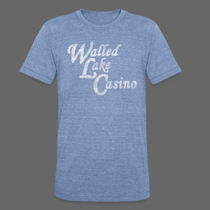 Old Walled Lake Casino - Unisex Tri-Blend T-Shirt by American Apparel
