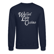 Long Sleeve Shirts ~ Crewneck Sweatshirt ~ Old Walled Lake Casino