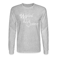 Long Sleeve Shirts ~ Men's Long Sleeve T-Shirt ~ Old Walled Lake Casino