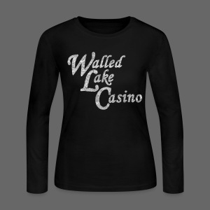 Old Walled Lake Casino - Women's Long Sleeve Jersey T-Shirt