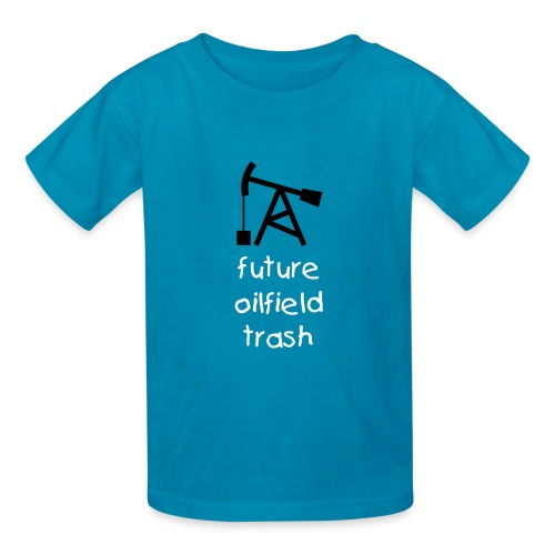 Future Oilfield Trash - Kids' T-Shirt