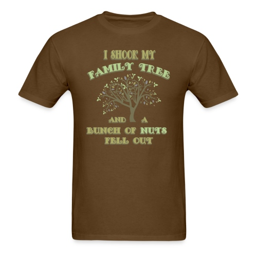 Family Nuts - Men's T-Shirt