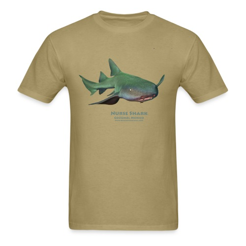 Nurse Shark Front - Men's T-Shirt