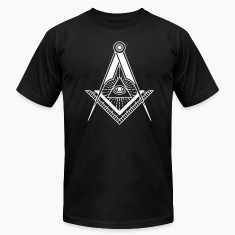 All Seeing Eye (Black) - T-Shirts