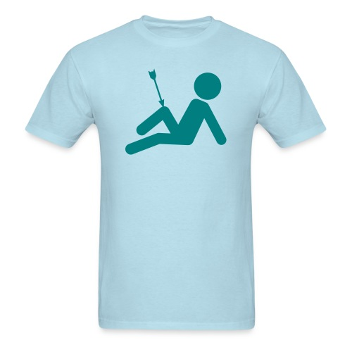 Arrow in The Knee - Men's T-Shirt
