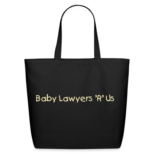 Baby Lawyer Tote - Eco-Friendly Cotton Tote