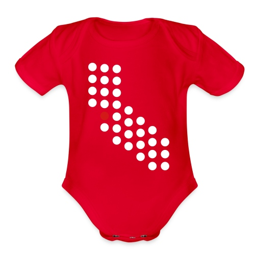 Bay Area, CA - Baby - Organic Short Sleeve Baby Bodysuit